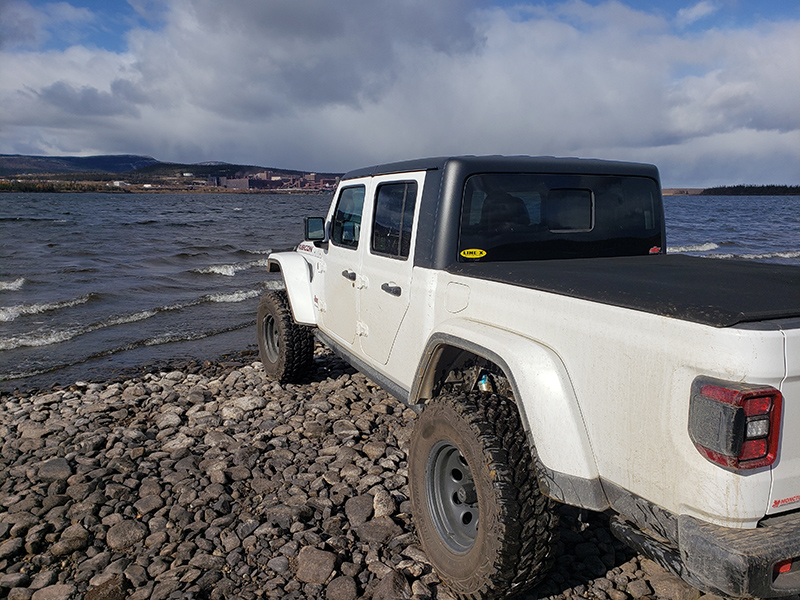 Our Jeep Gladiator – 0 to 2000 Km 60
