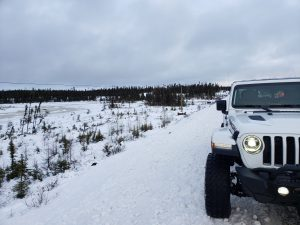 Surviving the Trans Labrador Highway in winter 14